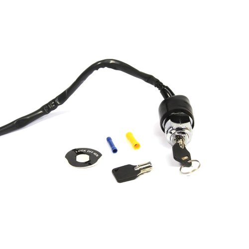 2 Position Round Key Ignition Switch for Harley FXR XL FX 1973-85 & all FXD (C01060223)