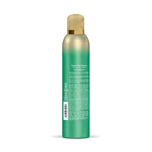 OGX Fitness Dry Shampoo Foam, 5 Ounce