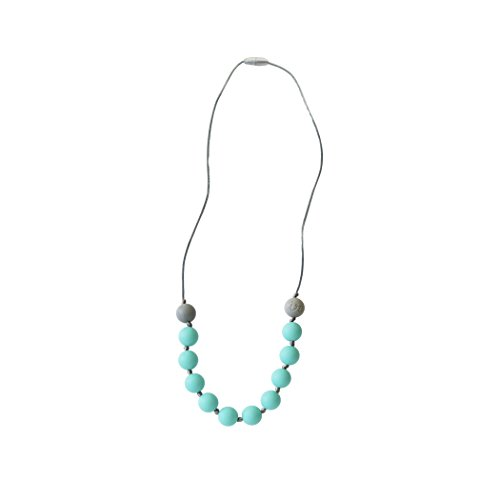 Itzy Ritzy Teething Happens Half-Strand Necklace, Petite Bead