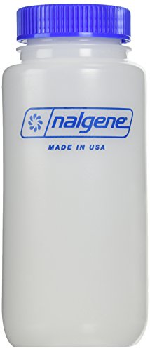 Nalgene HDPE Wide Mouth Round Container, 16 Oz ()