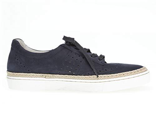 top calzado Blue jute 26 zapatos Mujer Deportivo low Plataforma Skate De suela Gabor 416 gSAqwg8