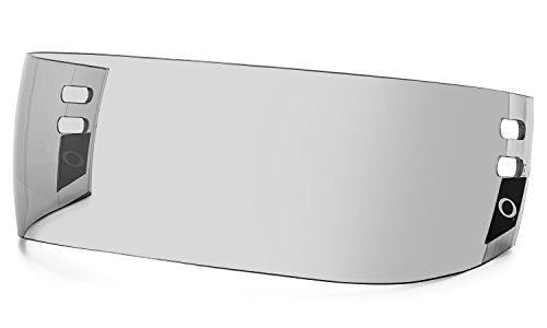 Oakley Straight Small Pro Cut Hockey Visor, Grey, One Size