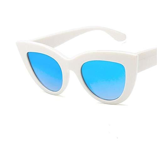 Cat Retro Hombre UV400 Eye Súper Ligero Sol Gafas Sol Unisex Vintage C4 de Gafas Polarizadas Lente Mujer Fliegend Gafas de Espejo zZxdqPvz