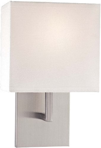 - George Kovacs P470-084 1 Light Wall Sconce, Brushed Nickel
