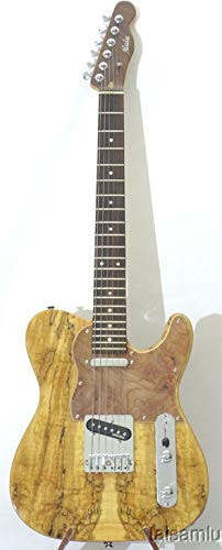 Guitarra eléctrica, madera de arce y caoba, Wilkinson pickup ...