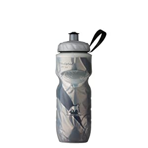 Polar Bottle Insulated Water Bottle (20-Ounce) (Black Pattern)
