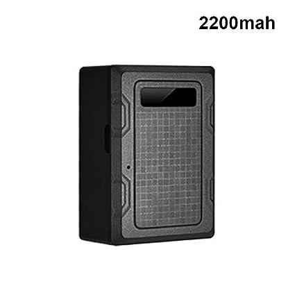 lzndeal Mini Dispositivo de Registro de batería de magnetismo Impermeable al Agua Integrado – Localizador de