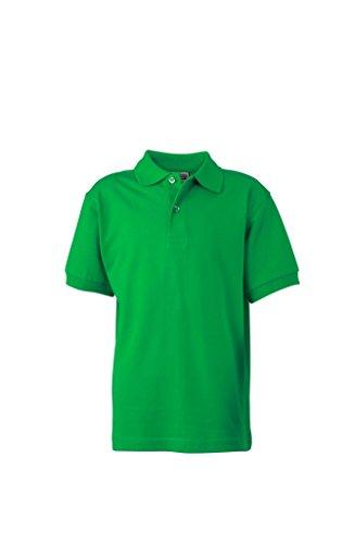 Fern Taglia Kids Manica Xs corta Knit Basic Polo Junior Piqué Junior green Classic Stitched Fit colori 2store24 Vari Xxl T6q05wn0