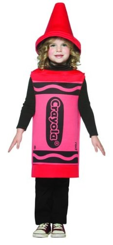 Crayola Logo For Costume (Rasta Imposta Crayola Red Toddler Costume,Red,4-6X)