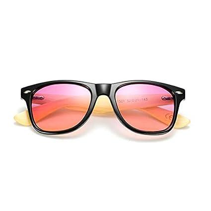 Amazon.com: New Bamboo Sunglasses Ocean Lens Wood Frame for ...