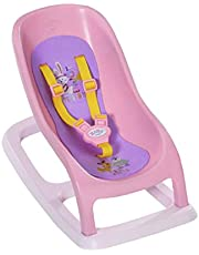 BABY born Schommelstoel voor Pop van 43cm - Met Veiligheidsgordels - Ideaal voor Kinderhandjes, Bevordert Creativiteit, Empathie & Sociale Vaardigheden, Vanaf 3 Jaar