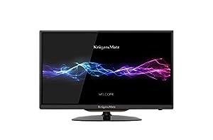 Krüger&Matz KM0224  Fernseher  ( 24 Zoll) (HD, 3xHDMI, DVB-T/C, EPG, PVR-Ready)