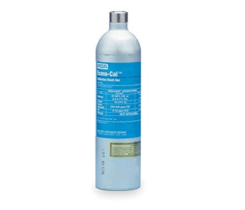Liter Econo-Cal Cylinder 60 PPM Carbon Monoxide, 0.0145 Methane, 0.15 Oxygen, 20 PPM Hydrogen Sulfide Balance Nitrogen Calibration Gas For Solaris® Multi-Gas Detector