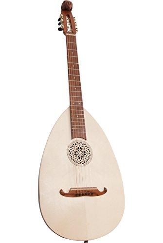 Roosebeck Lute-Guitar Steel 6-String Variegated ()