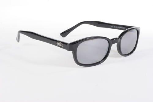 KD's Black Frame Silver Mirror Lenses Sunglasses ASO Jax Teller Sons of - Sunglasses Asos