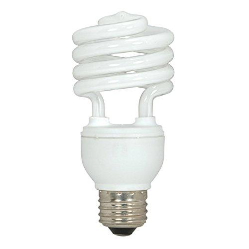 Satco S6272 4 Pack - 18W T2 Ultra Mini Spirals Screw-In 4100K fluorescent bulb ()