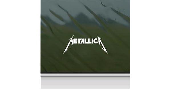 METALLICA .. Vinyl Decal .. Band Car Laptop Sticker Vinyl Decal