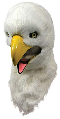 THUMBS UP Moving Mouth Adult Mask, Eagle