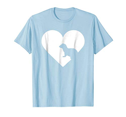- I Love Ferrets - Heart Shaped Ferret Lover T Shirt