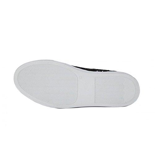 De Mujer Frau 38 Deportes Zapatillas Negro Exterior Para q8gP7t