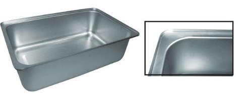 (Winco C-WPF6 6-Inch Deep Spillage Pan, Full Size)