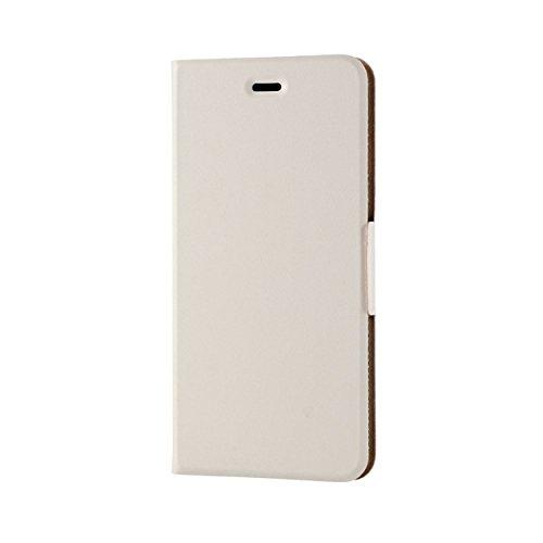 騒々しい金銭的韓国語ELECOM iPhone 6s Plus/6 Plus 対応 ケース 手帳型 ソフトレザーカバー 薄型 ホワイト  PM-A15LPLFUMWH