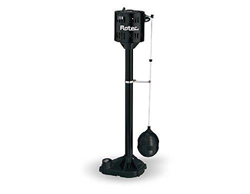 0.5 Hp Pedestal Pump - Flotec FPPM3600D-01/09 1/3 HP Pedestal Sump Pump
