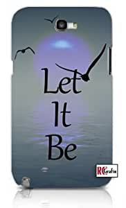 Mystic Sunrise Let It Be Apple iphone 6 4.7 Quality TPU Soft Rubber Case for iphone 6 4.7 - AT&T Sprint Verizon - White Case