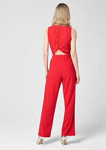 high Para Mono Red Largo S Black Mujer oliver Label Rot 3100 Fq8yax71w