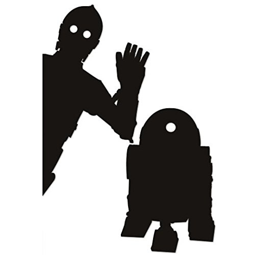 Wall Sticker Petamo STAR WARS C-3PO & R2-D2