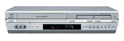 JVC HR-XVC33U Progressive-Scan DVD/VCR Combo , Silver by JVC