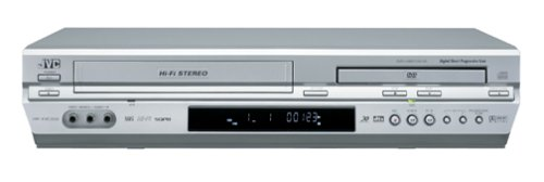 JVC HR-XVC33U Progressive-Scan DVD/VCR Combo , Silver