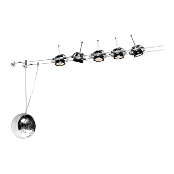 TERMOSFAR Low-voltage wire system 5 spots - IKEA - Track Lighting ...