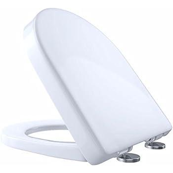 Toto Ss117 01 Softclose D Shape Front Toilet Seat Cotton