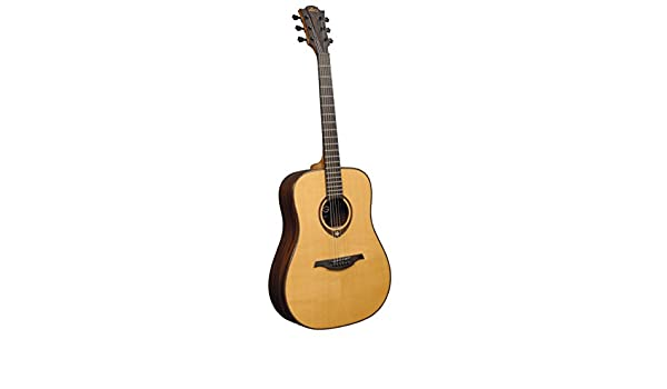 Md guitarra acustica lag dreadnought solid spruce: Amazon.es ...