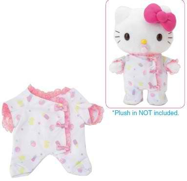 Hello Kitty 'Baby' Dress-me Outfit - Heart Romper Outfit Only Doll Not Included