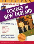 Peterson's Colleges in New England, 1998, Peterson's Guides Staff, 1560797878