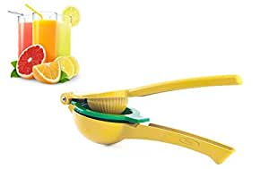 Lemon and Lime Squeezer, Manual Citrus Press Juicer - Zolay™ High Premium Quality Metal
