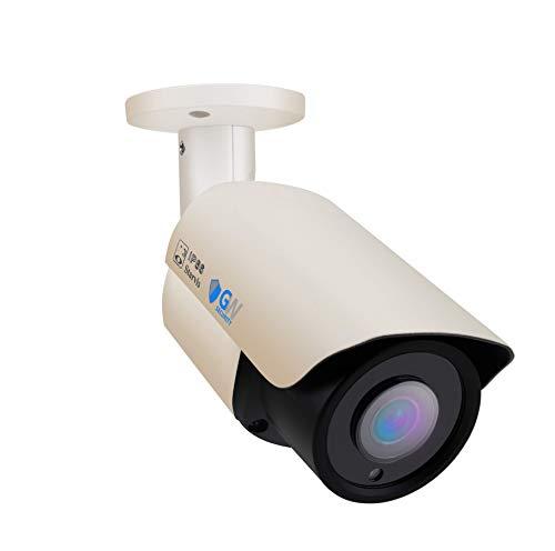 GW Security 5MP Color Night Vision 1920P Starlight CCTV HD-CVI/TVI/AHD/CVBs 1080P 4-in-1 Camera Outdoor Indoor Bullet Security Camera