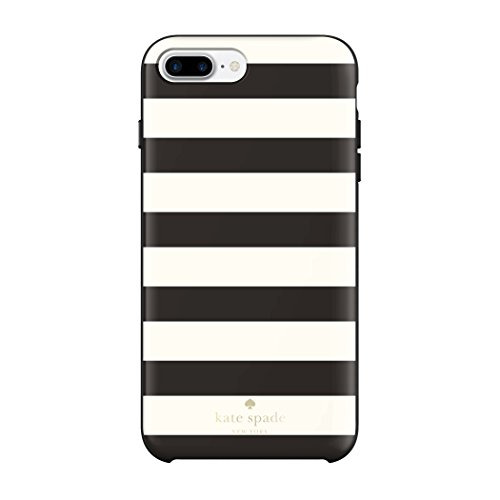 kate spade new york Protective Hardshell iPhone 7 Plus Case, also compatible with iPhone 6 Plus, 6s Plus - Candy Stripe ()
