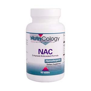 Nutricology Nac Antioxidant Formula améliorée, 90 comprimés