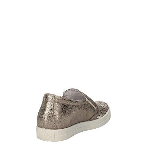 in italy NERO Igi 7790 made pelle slip sneaker Taupe on donna Scarpa amp;co vdPPxqBZ