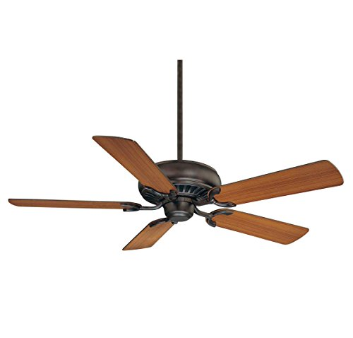 Indoor Ceiling Fans with English Bronze Tone Finished Metal MDF Material 52 inch
