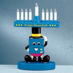 Sammy The Draydelette (Musical Electronic Menorah Lights up & Plays Maoz Tzur!) Happy Chanukah by Shulsinger Sales (Image #1)