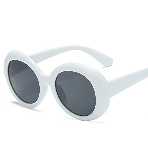 Aoligei Elliptique Frame lunettes de soleil Transparent Ocean film lunettes personnalité rétro lunettes de soleil mode pour cent des lunettes de soleil bQmSLhcl