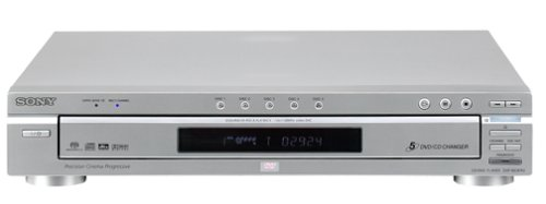 Sony DVP-NC875V/S 5-Disc DVD/CD/SACD Changer, Silver