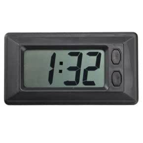 2-inch LCD Screen Car Clock with Calendar Display