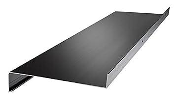 Fensterbank Englisch aluminium fensterbank fensterbrett ausladung 130 mm weiß silber