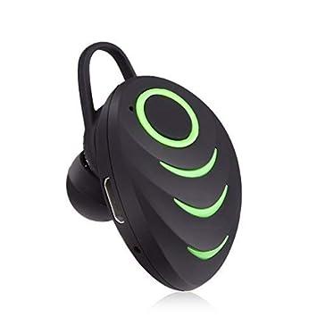 Miya System Ltd Auriculares Bluetooth Stealth, Auriculares Micro Auriculares Inalámbricos Surround Mini Auriculares con Cancelación de Ruido con Micrófono ...