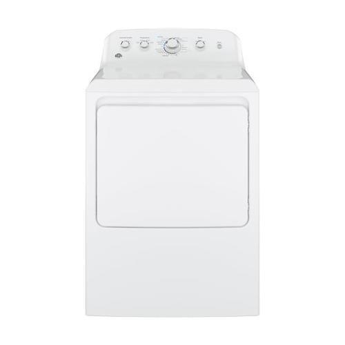 GE GTD42EASJWW Aluminized Alloy Drum Electric Dryer, 7.2 Cu. Ft. Capacity, White, ()